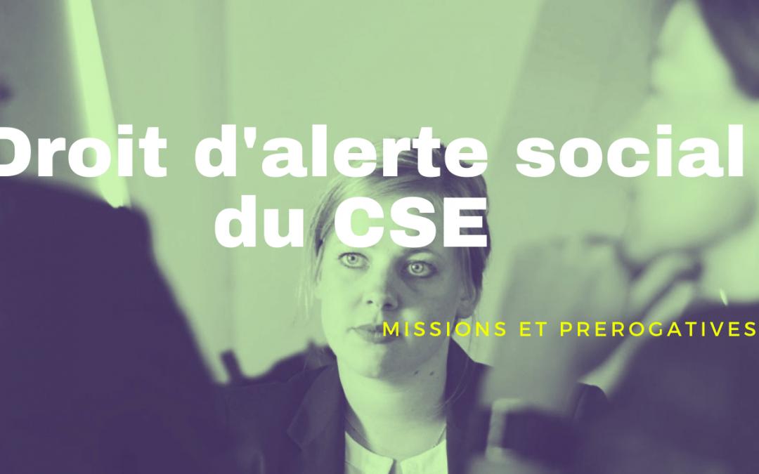 Le Droit d'alerte social du CSE : lutte contre la précarité dans l'entreprise